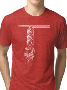 Traffic of Words Inverted Tri-blend T-Shirt