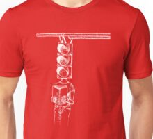 Traffic of Words Inverted Unisex T-Shirt