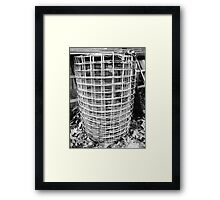 Wire, withheld  Framed Print