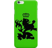 Lion crown geek funny nerd iPhone Case/Skin