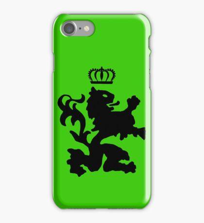Lion crown geek funny nerd iPhone Case/Skin