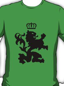 Lion crown geek funny nerd T-Shirt