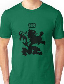 Lion crown geek funny nerd Unisex T-Shirt