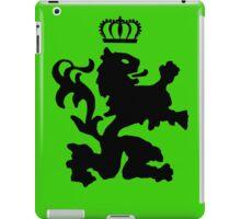 Lion crown geek funny nerd iPad Case/Skin