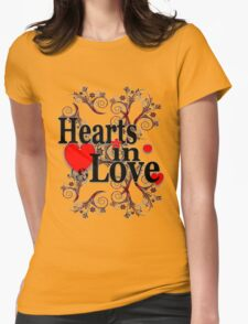 Hearts in love  T-Shirt