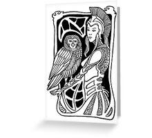 Minerva Greeting Card