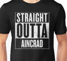 Straight Outta Aincrad Unisex T-Shirt
