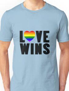 Love wins lovewins celebrate marriage equality geek funny nerd Unisex T-Shirt