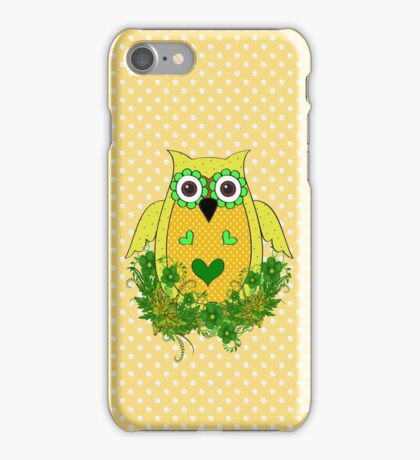 The Yellow Owl  iPhone Case/Skin