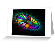 Rays of Hope, Colors of Love Greeting Card