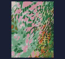 Leopard Pattern Background Kids Tee