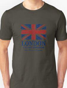 London - United Kingdom - Union Jack Flag T-Shirt