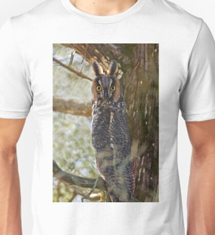 Long Eared Owl - Amherst Island, Ontario Unisex T-Shirt