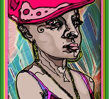 A B-GIRL BANGER! by SOL  SKETCHES™