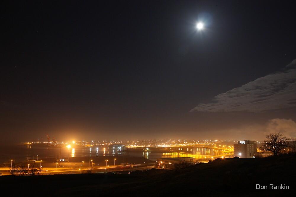 Night Sky Line by Don Rankin