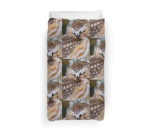 Northern Saw Whet Owl - Ottawa, Canada Duvet Cover