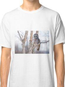 Great Grey Owl - Dunrobin Ontario Classic T-Shirt