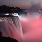 Niagara lights by John Banks