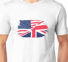 USA Flag - Union Jack Unisex T-Shirt