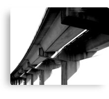 Vaults of Bay Area BART Canvas Print