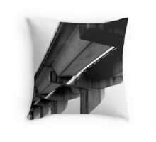 Vaults of Bay Area BART Throw Pillow