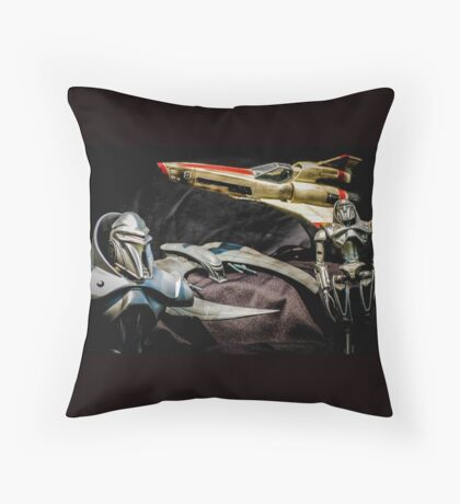 Who are you looking at Throw Pillow