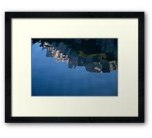 Flipped Framed Print