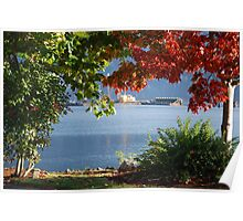 Morning on Cowichan Bay... Poster