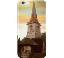 St. Mary the Virgin, Lower Slaughter iPhone Case/Skin