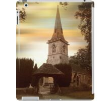 St. Mary the Virgin, Lower Slaughter iPad Case/Skin