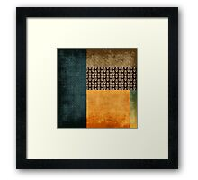 kollage Framed Print