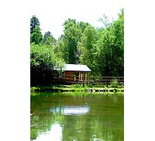 Summer at Lone Duck  Photographic Print