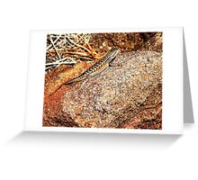 New Mexico Lizard Greeting Card