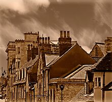 Rooftops of Stamford by almaalice