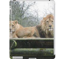 Mr & Mrs (Lion) iPad Case/Skin