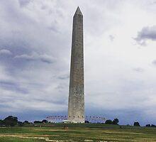 Washington Monument by Lagoldberg28