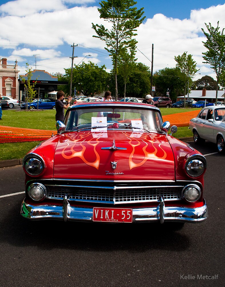 1955 Ford Fairlane Crown Victoria by Kellie Metcalf
