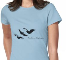 Divergent - One Choice Ravens Tattoo Womens Fitted T-Shirt