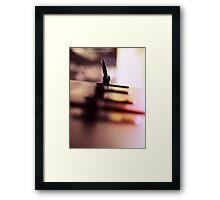 LANGUID LAVENDER PANTONE #D6CADD Framed Print