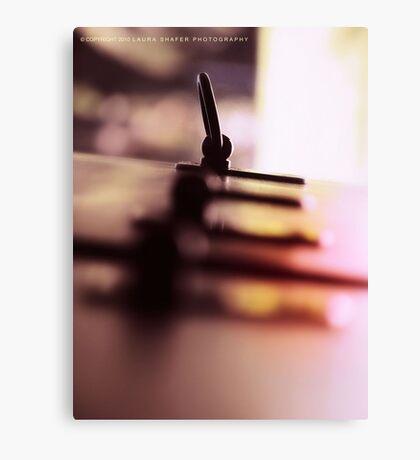 LANGUID LAVENDER PANTONE #D6CADD Canvas Print
