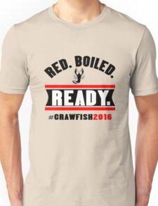 Red boiled ready crawfish 2016 mens geek funny nerd Unisex T-Shirt