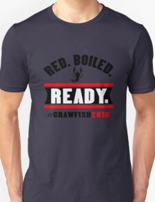 Red boiled ready crawfish 2016 mens geek funny nerd T-Shirt