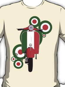 Italian decal scooter on roundals T-Shirt