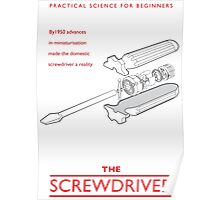 Practical Science for Beginners: The Screwdriver Poster