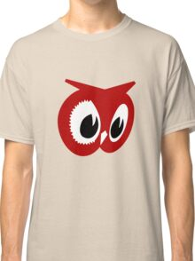 Red owl vintage red owl food stores geek funny nerd Classic T-Shirt