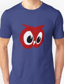 Red owl vintage red owl food stores geek funny nerd T-Shirt