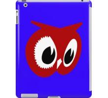 Red owl vintage red owl food stores geek funny nerd iPad Case/Skin