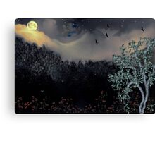 MOON RIVER and a real oldie song..hehe  Canvas Print