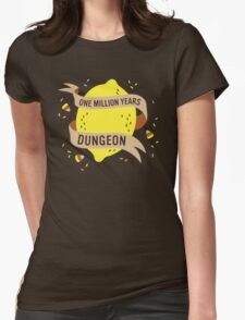 One Million Years Dungeon Womens Fitted T-Shirt