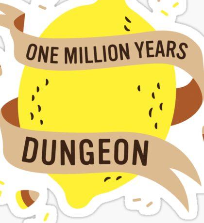 One Million Years Dungeon Sticker